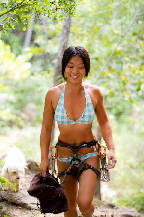 Bikini Climbing Homoclimbtastic
