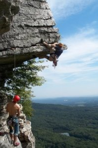 Rob at the Gunks