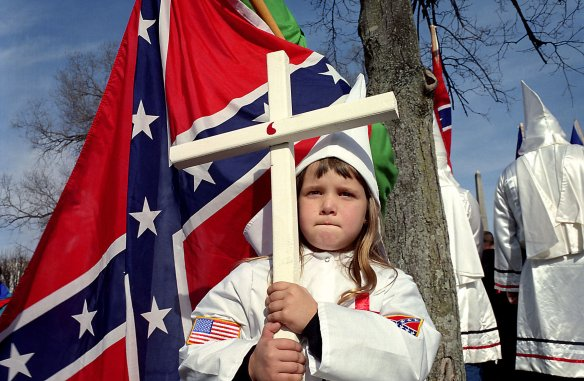 As a descendant of a confederate soldier, my efforts to redeem the stars and bars keep getting foiled by eight year olds.