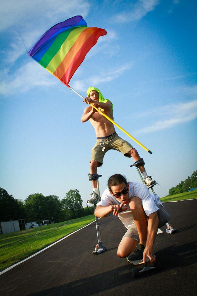 Gay skydiving